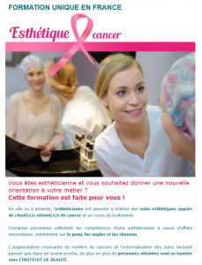 Esthétique et cancer