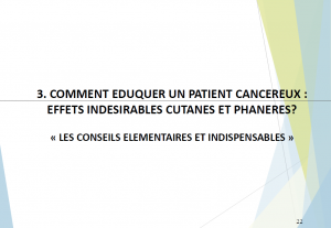 Education du patient en oncologie